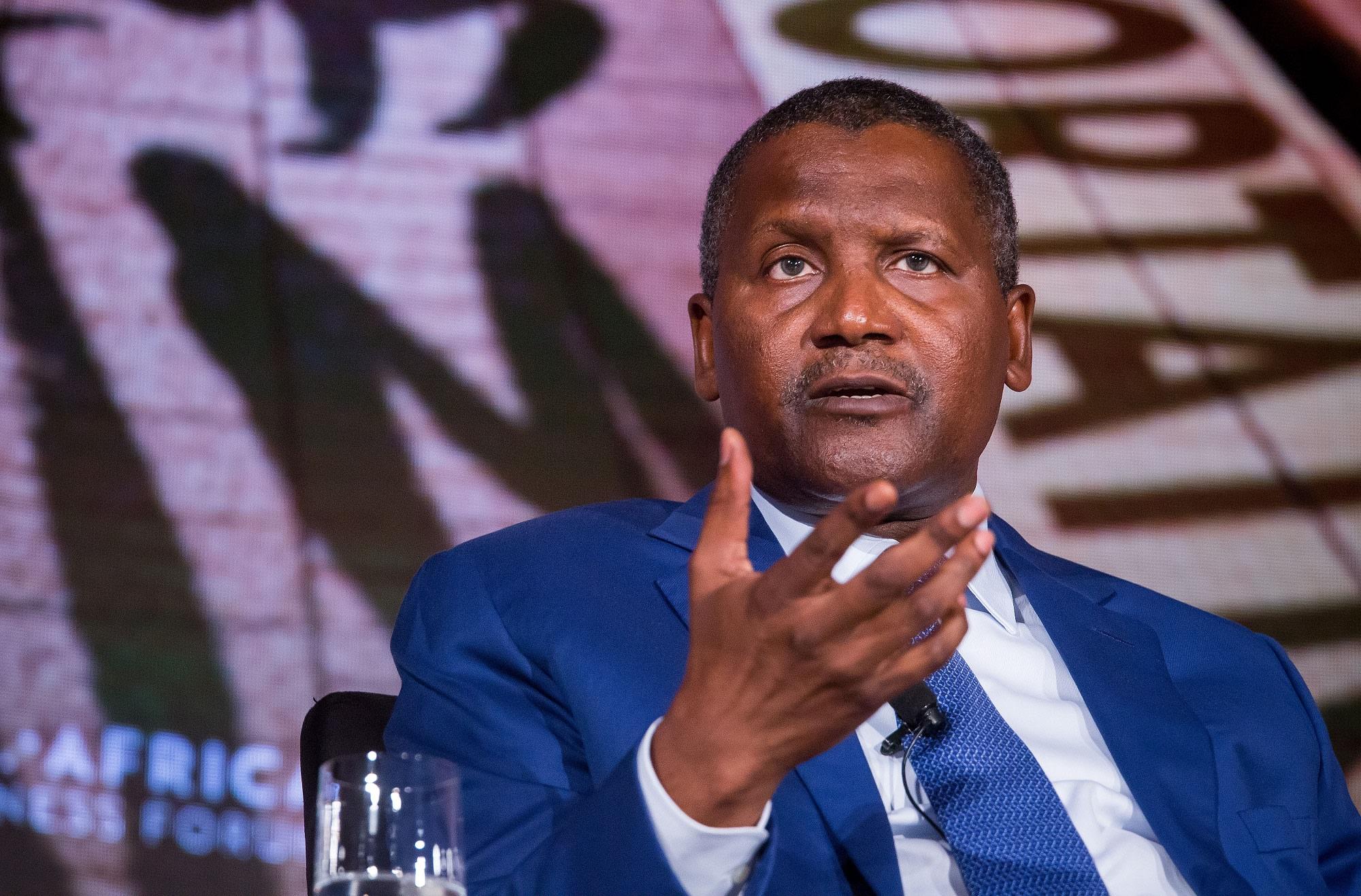 Dividend, Uncalimed dividends, Dangote, shareholders