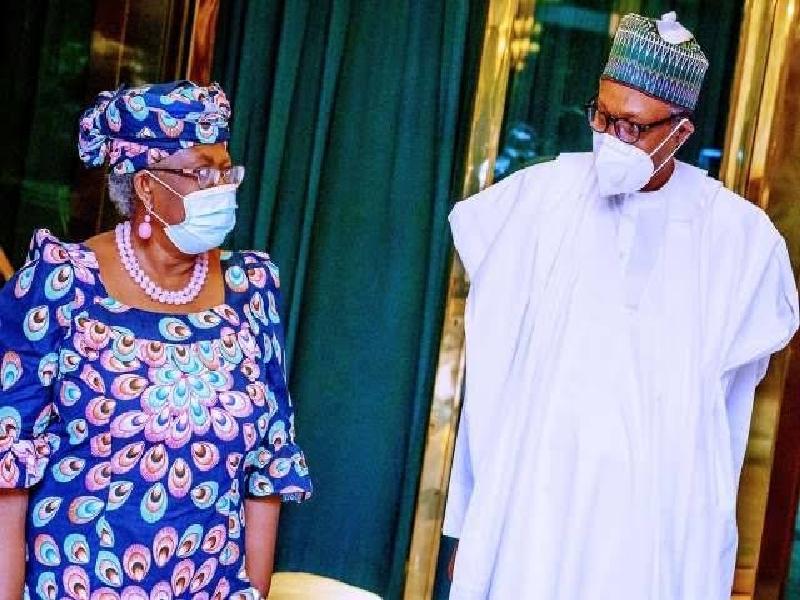 Buhari to Iweala: We'll push until you clinch WTO job