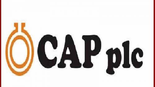 9M-2020: CAP Plc reports N928m profit as revenue soars 34% in Q3