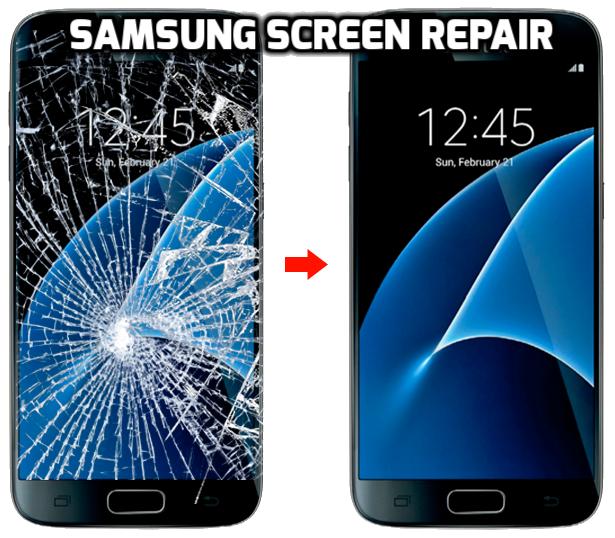 Samsung screen repair cost