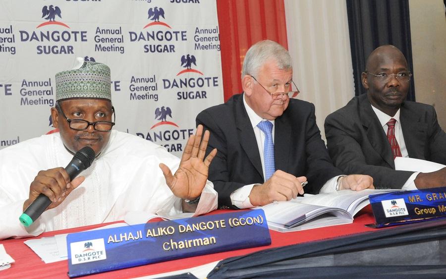 Dangote Sugar Refinery Dividend