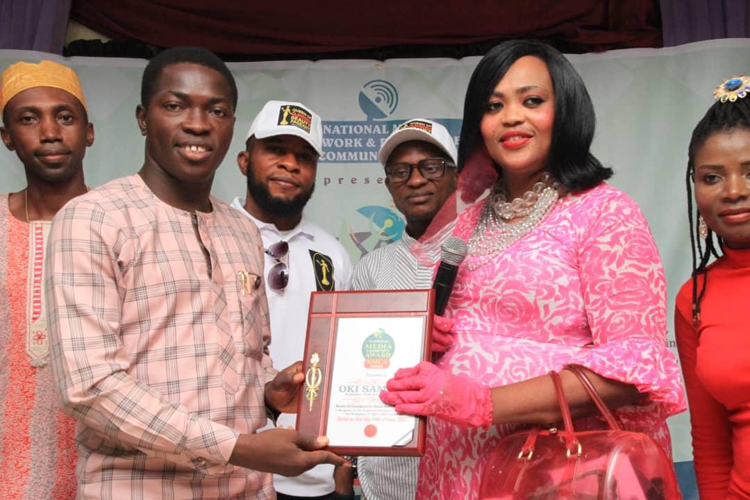 Trek Africa Publisher Oki Samson bags two prestigious awards